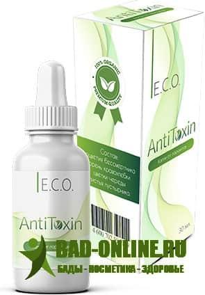 Капли от паразитов Eco AntiToxin