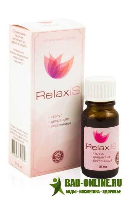RelaxiS средство от стресса, депрессии и бессонницы