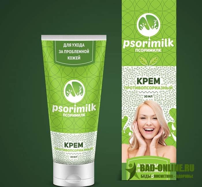 Psorimilk (Псоримилк) крем от псориаза