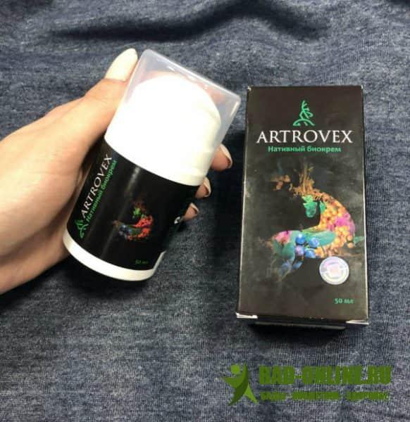Artrovex биокрем для суставов
