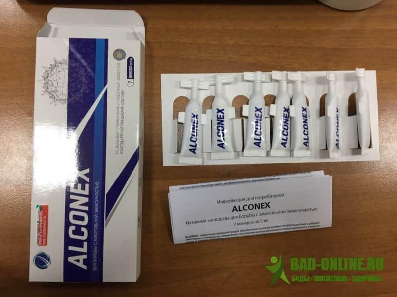 Alconex (Алконекс) средство от алкоголизма купить