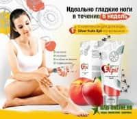 Silver Fruits Epil крем для депиляции с ионами серебра