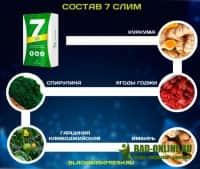 7Слим (7Slim) для похудения в аптеке