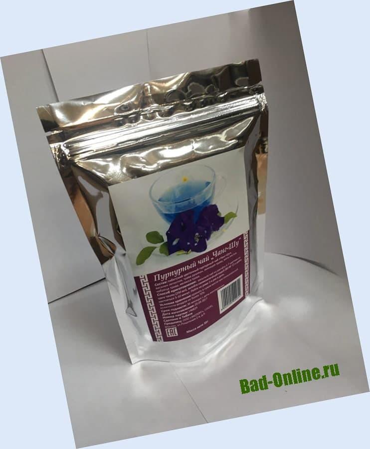 Пурпурный чай для похудения на сайте Bad-Online.ru