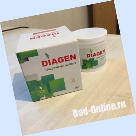 Диаген от диабета на сайте Bad-Online.ru