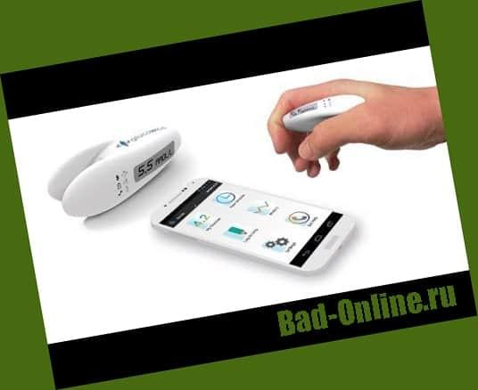 Оригинал прибора, купленный на сайте Bad-Online.ru