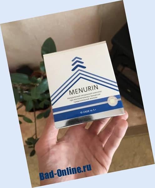 Menurin от простатита на сайте Bad-Online.ru