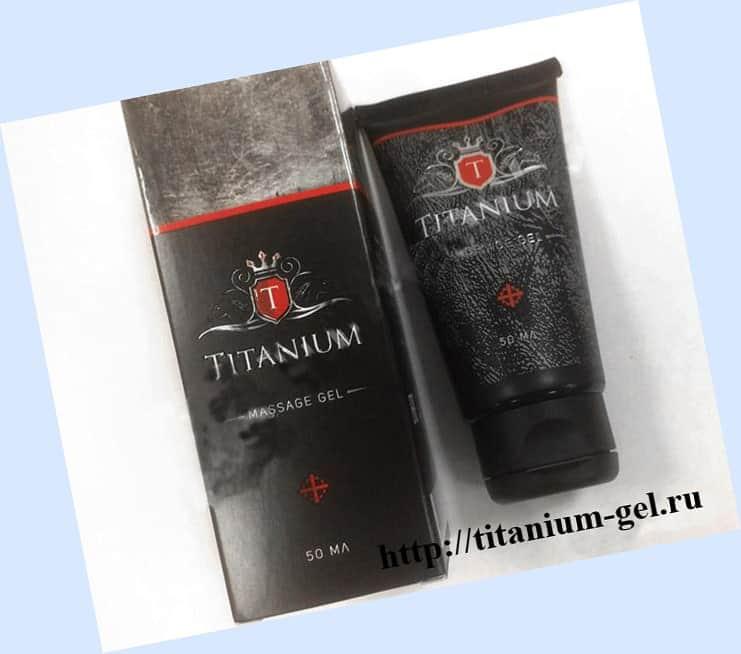 Титаниум Гель (Titanium Gel) для увеличения члена