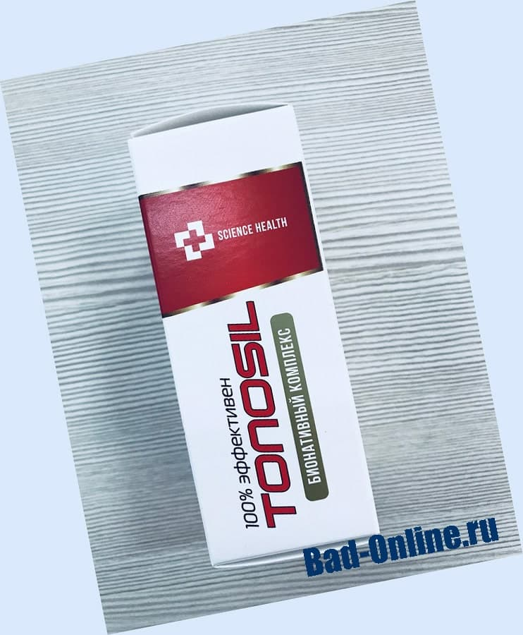 Tonosil от гипертонии на сайте Bad-Online.ru