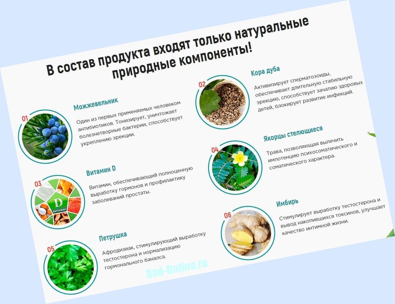 Полный состав препарата Urotrin