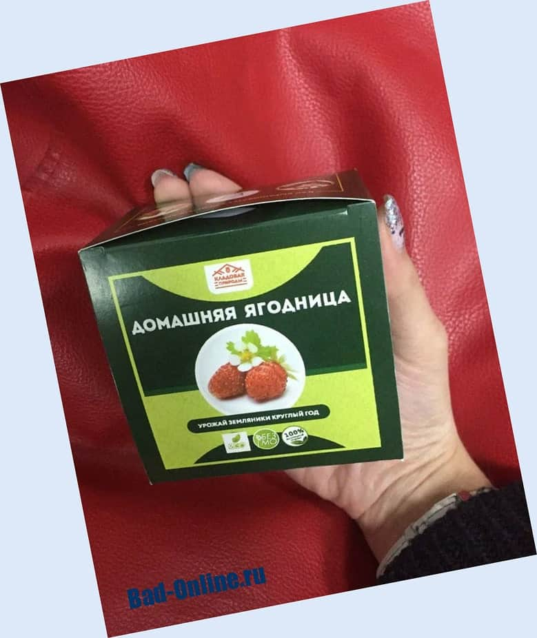 Оригинал средства, купленный на сайте Bad-Online.ru