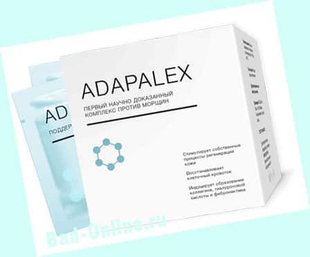 Оригинал крема Adapalex, купленный на сайте Bad-Online.ru
