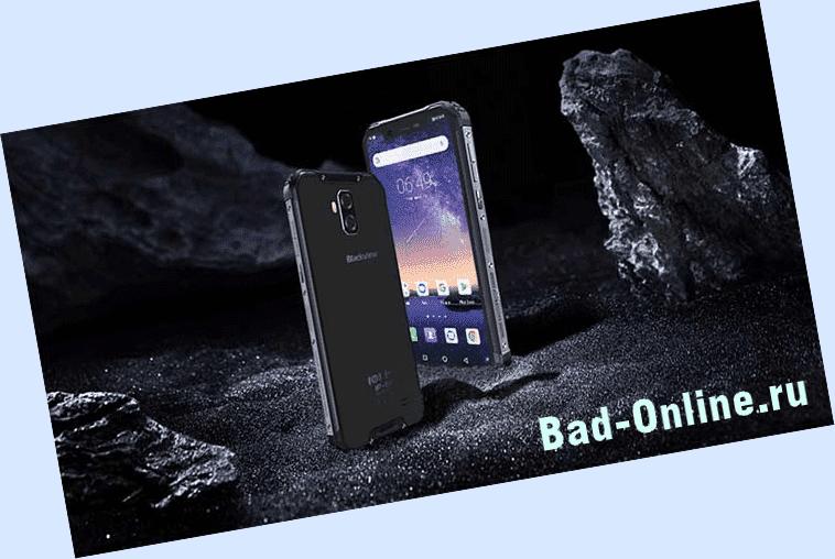 Как работает смартфон Blackview BV9600?