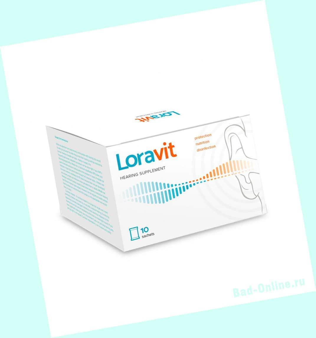 Оригинал препарата Loravit, купленный на сайте Bad-Online.ru