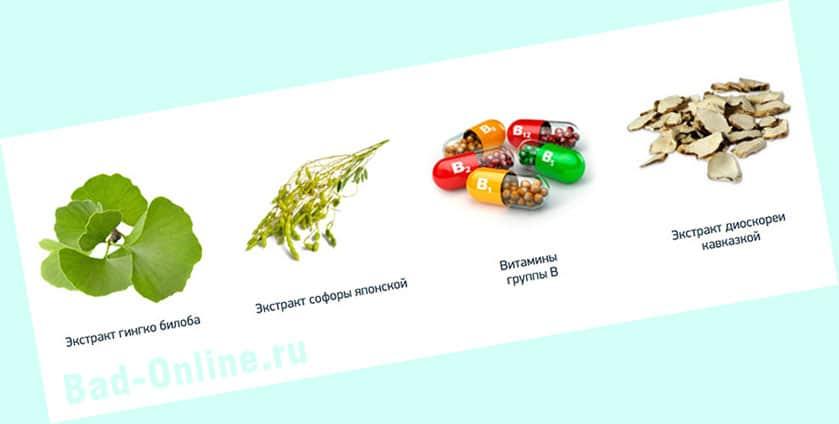 Полный состав препарата Loravit для восстановления слуха на сайте Bad-Online.ru
