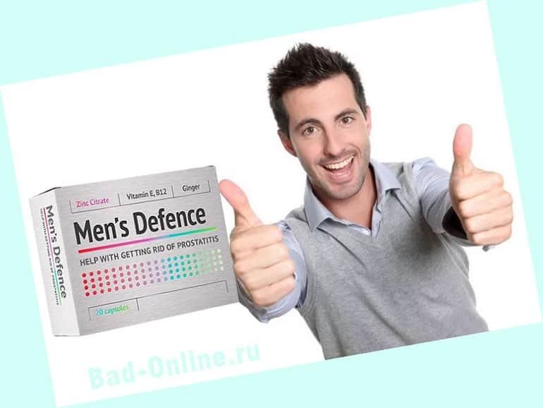 Men's Defence от простатита на сайте Bad-Online.ru