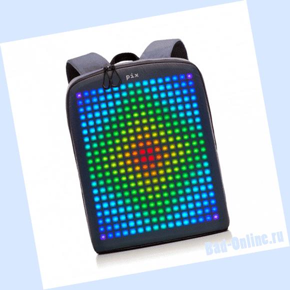 Оригинал цифрового рюкзака Pix, купленный на сайте Bad-Online.ru